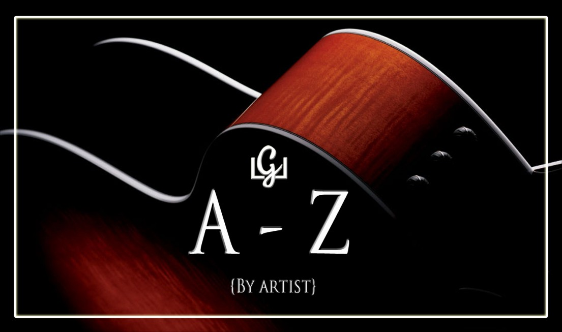 A - Z Chords Library - Live Love Guitar