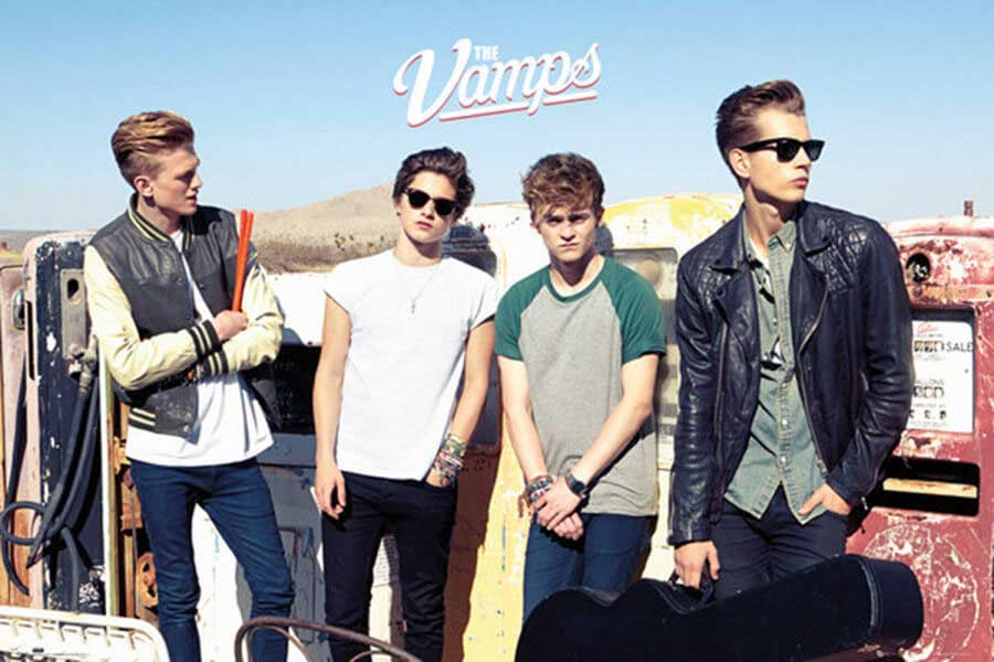 The Vamps I Found A Girl Guitar Chords Live Love Guitar